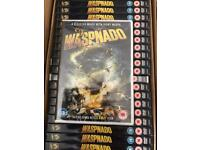 X25 waspnado Dvds Brand New And Factory Sealed
