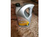 New 5w-30 Engine oil 5ltrs
