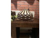 Tiffany style lamp shade £25