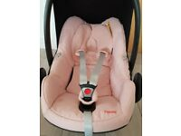 Maxi Cosi Pastel Pink Car Seat From Birth