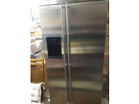 MAYTAG SIDE BY SIDE STAND ALONE FRIDGE FREEZER STAINLESS STEEL GS2728EEDB