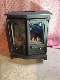 Charnwood Country 8B wood burning stove with boiler.
