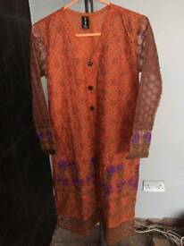 New Small Orange Kurta