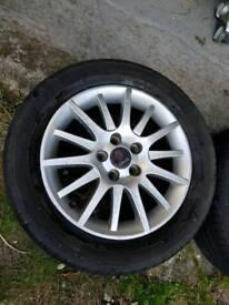 Saab vauxhall alloy wheels Goodyear tyres!