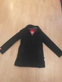 Superdry mens M trench coat