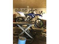 2008 Yamaha yzf 250 cc 4 stroke motocross bike... dirt bike 450 125 swap road bike