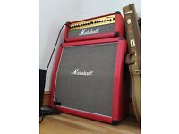 Marshall Stack Guitar Amp MG100HDFX RED
