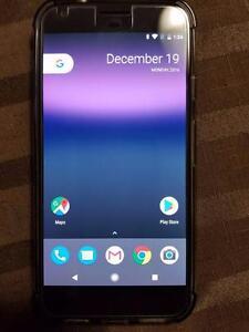 Unlocked Black Google PIxel XL 128 GB