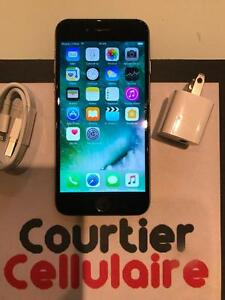 ***VOIR DESCRIPTION*** iPhone 6 64gb gris cosmique Telus/Koodo