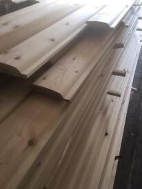 New super log cladding
