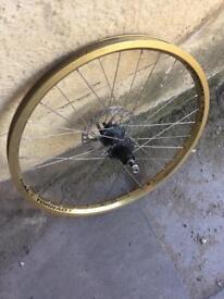 "Gold halo tornado 24"" rear limited edition wheel!"