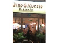Gino & Nunzio Pizzeria - Part-Time & Full-Time Delivery Drivers Are Required for delivering Food