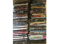 1 boxes DVDs