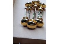 Small brass Kitchen Cabinet door/drawer pulls