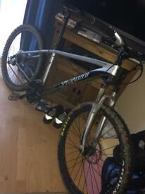 Specialised mountain bike