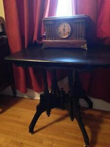 clock or table or both