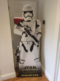 Life size storm trooper display
