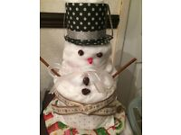 Babies 1st Christmas Nappy Cake