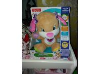 Baby musical activity dog teddy fisher price