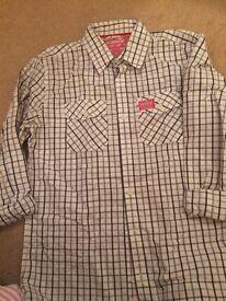 Men's superdry shirts size large