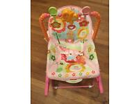 Rocking chair with music and vibrations-Fisher Price