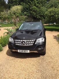 4x4 Mercedes ML350 CDi Blue Efficiency Sport, sat nav, removable tow bar, new tyres, FSH, 88000miles
