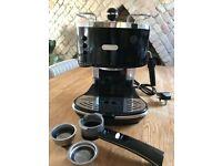**DeLonghi ECO310BK 15 Bar Pump Espresso Machine, Black**