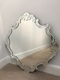 Beautiful Anthropology Mirror Perfect Condition