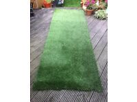 Good quality artificial grass. 2.5 meters by 90cm
