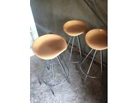 3 kitchen bar stools for island unit