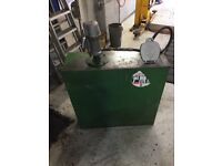200 litre oil storage tank with hydraulic dispensing pump