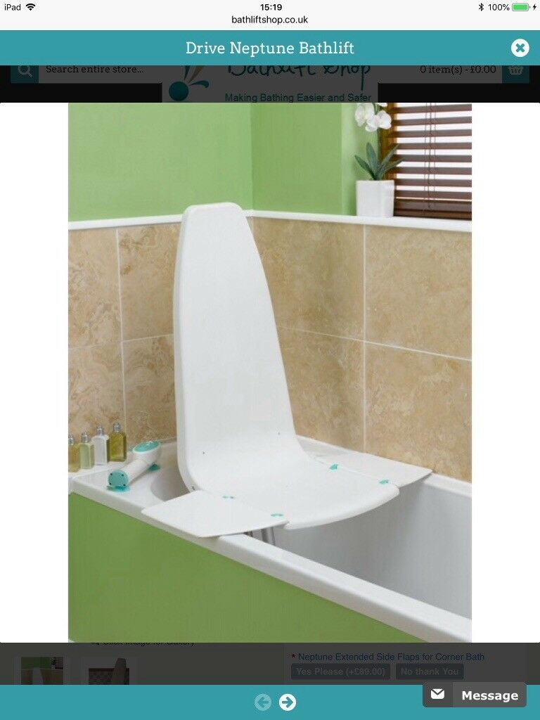 Mobilise Neptune bath lift. Brand new, never been used. | in ...