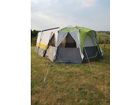 Coleman Cortes Octagon 8 tent. Green.
