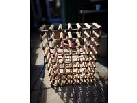 48 hole wine rack