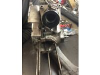 vespa px 200 reed valve engine casing need tlc open to offers