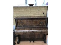 John Spencer and co upright piano, good condition looking for a new home