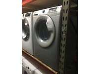 SILVER HOOVER WASHER DRYER