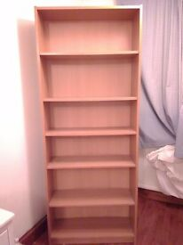 Ikea bookshelve.
