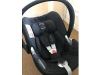 Cybex Aton Q I-Size Car Seat with Isofix Base and Adaptors