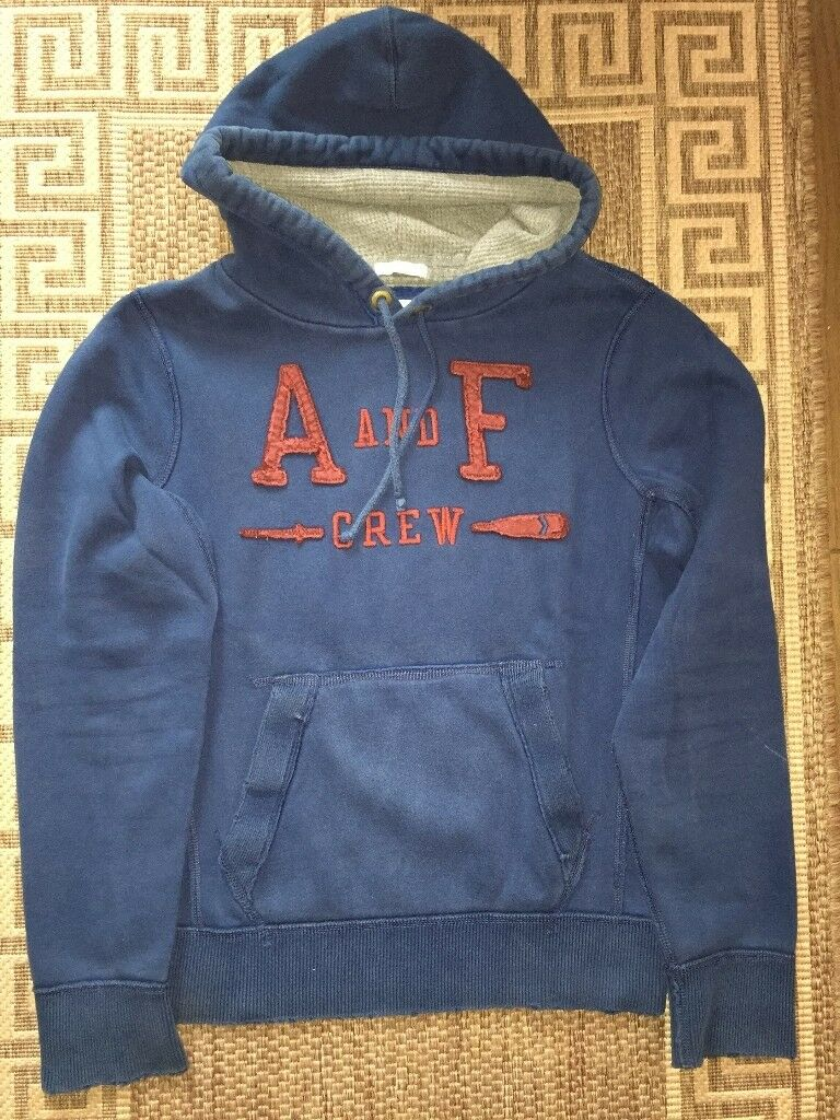 Abercrombie & Fitch New York Hoodie Cotton Sweatshirt