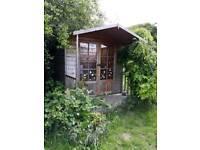 Free summerhouse 2.5m x 2.5m