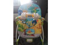 Baby einstien vibrating/musical chair