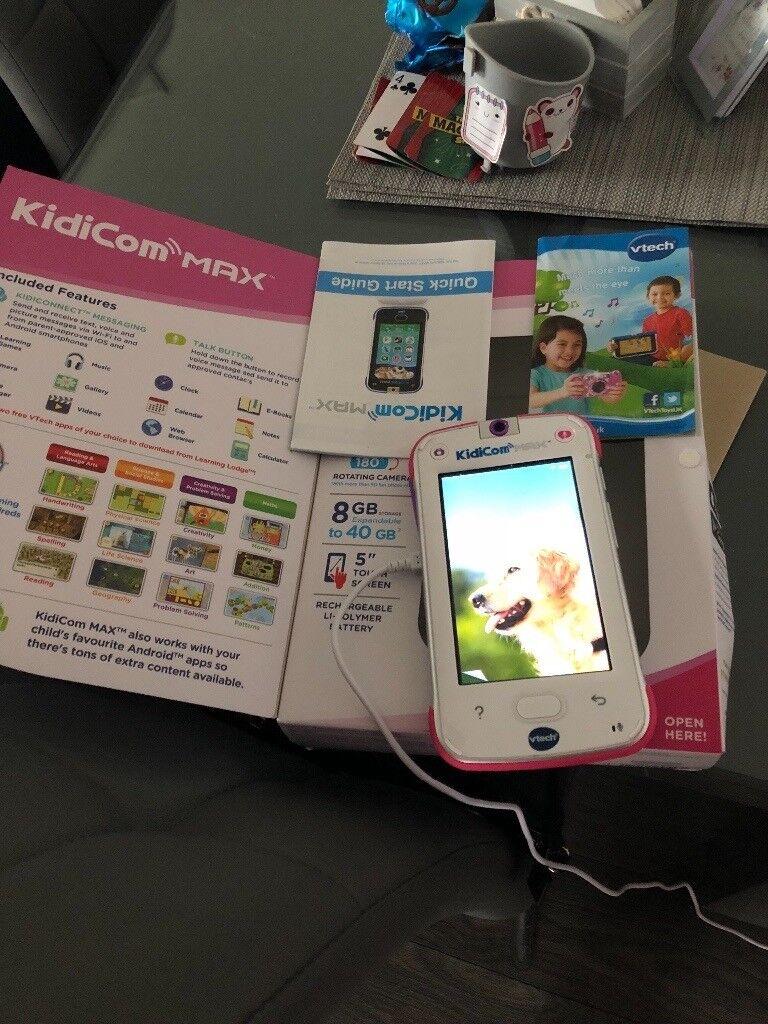 Kids Kidicom Max Phone In Gorebridge Midlothian Gumtree