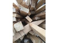 FREE LOTS OF JOISTS TIMBER 4x2 USED