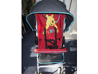 Disney hauck winnie the pooh character buggy nearly new