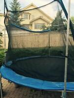 14 ft Trampoline with net