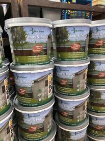 Fence Paint 5L Bird Brand 2 for £11