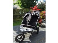 "Out ""n"" about nipper double buggy"