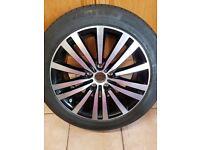 VW Passat 2011 - 2015 17 inch Alloy Wheel 5 Stud Minneapolis