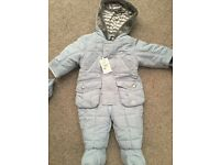 Jasper Conran Snowsuit 6-9 months
